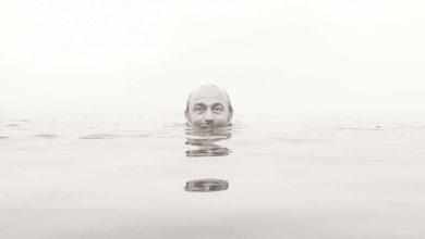 Otužovanie, ponorenie hlavy   Autor: Vladimir Pauco