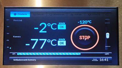 Kryokomora teplota
